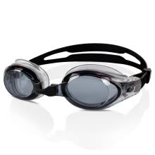-Speedo high-definition anti-fog waterproof goggles male and female professional training frame fast easy to adjust swimming glasses equipment comfortable flat light 8-027587649 black on JD