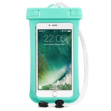 -ESR Universal Waterproof Smartphone Case, green on JD
