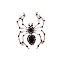 -Yoursfs@ handmade Black Spider vintage brooch rhinestone brooches for women diy Fashion Jewelry breastpin brooch pins on JD