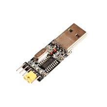 computer-parts-components-USB to TTL UART CH340 - Serial Converter, 5V/3.3V - Universal. Not need switching. IC CH340G on JD
