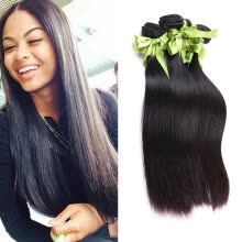 -Peruvian Virgin Hair Straight Bulk Hair Extensions 4 Bundles Human Braiding Hair Bulk No Weft No Attachment Straight Bulk Hair on JD