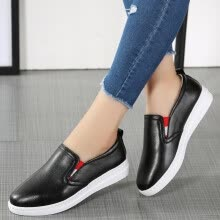 -2017 new leisure flat women's shoes soft soles and soya shoes women's shoes on JD