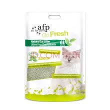 -AFP natural green tea tofu cat sand sand 6 liters plant dust free deodorant water gathering on JD