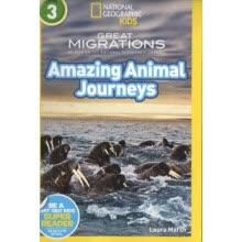 -National Geographic Readers: Great Migrations Amazing Animal Journeys 英文原版 on JD
