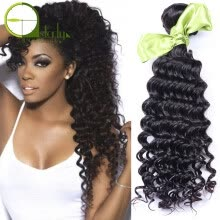 -Brazilian Deep Wave Virgin Hair Brazilian Hair Bundles 3pcs lot Deep Curly Virgin Hair 7A Cheap 100 Human Hair Weave Online Sale on JD