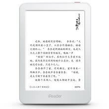 electronic-education-Palm reading (iReader) Light Yue enjoy the white version of the new thin and light e-book reader 6-inch ink screen 8G memory on JD