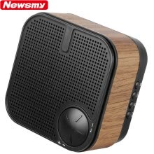 875072520-Newman (Newsmy) L63 radio wood fashion speaker stereo FM radio elderly rechargeable portable mini card mp3 player wireless Bluetooth call black on JD