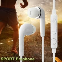 -Sport Earphone Portable Wired In-Ear Earphone Headset Earphone Stereo Universal for iPhone Samsung Huawei Smartphone on JD