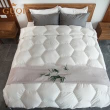 -Soft Circe White Goose Down Quilt on JD