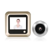 smart-doorbells-2.4 inch Digital Door Eye Peephole Viewer LCD Security Camera Monitor 120¡ã Wide Angle Lens Secretly Photo Shooting for Home Secur on JD