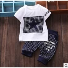 -US STOCK Baby Boy Kid Girls Clothes Sportswear T-shirt Top Pants Outfit 2Pcs Set on JD