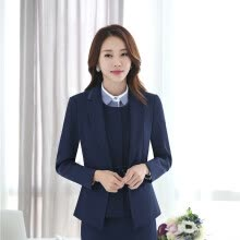 875061819-Plus Size 4XL Formal Jackets Coat For Ladies Office Work Wear Autumn Winter Outwear Blazers Female Tops Clothes Long Sleeve on JD