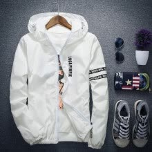 875061442-Men Spring& winter&Autumn Jacket Outdoor Sportswear Hooded Coat Thin Blazer Jacket Sweater sweat shirt cardigan on JD