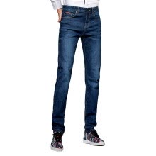 casual-pants-Pierre cardin 203760 Fall / Winter 2017 new men's fashion straight casual washed classic jeans blue black 35 yards on JD