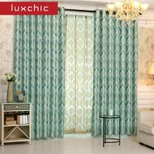 8750202-1 PC European Gloden Royal Luxury Curtains for Bedroom Window Curtains for Living Room Elegant Blinds Drapes Lace Curtains on JD