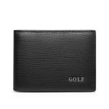 -Golf GOLF first layer of leather driving license sets of multi-functional card purse business card holder Q7BV72965J black on JD
