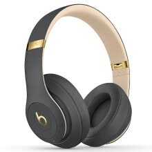 -Beats Studio3 Wireless Sound Recorder Wireless 3 Generation Headset Bluetooth Wireless Noise Reduction Gaming Headset - Phantom Grey (Limited) MQUF2PA/A on JD