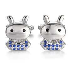 875062462-Yoursfs Bunny Cufflinks for Men Wedding Jewelry Cuff Links Gift on JD
