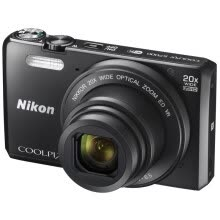 875072536-Nikon (Nikon) COOLPIX S7000 digital camera black (16.02 million effective pixels 20 times the light back into the CMOS 3-inch screen 25mm wide-angle WIFI) on JD