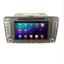-henhaoro for Skoda Octavia Capacitive touch screen car dvd player gps navigation Bluetooth AM 7' 2din in dash TFT with canbus on JD