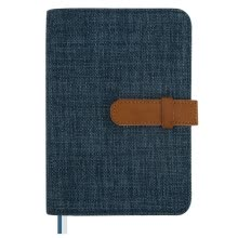 -Kinbor cotton and linen A5 hand book book / schedule notebook hand book / stationery notebook bean green DTB6041-3 on JD