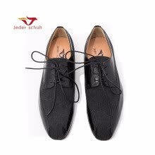 c3f10587f20 Jeder schuh new Patent Leather stitching men s loafers Banquet and Wedding men s  dress shoes lace-up men shoes